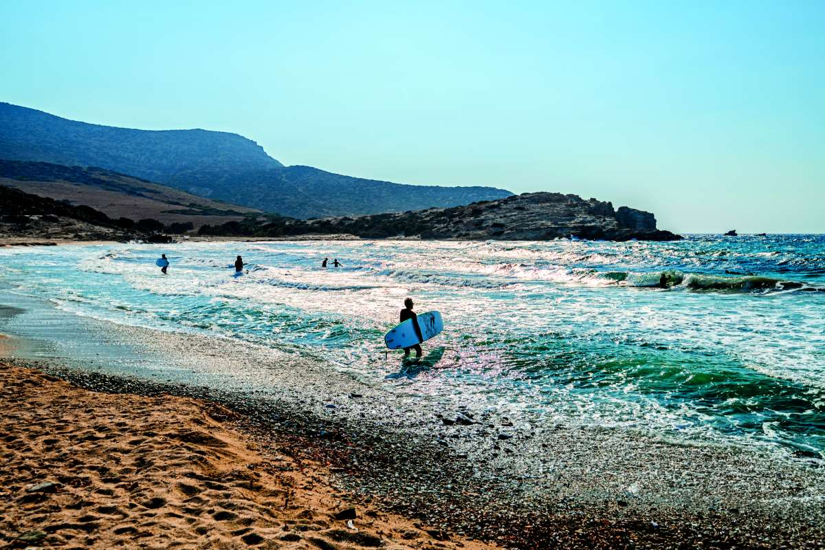 Αντίπαρος παραλία