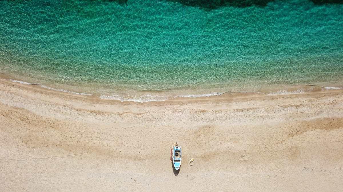 παραλία Ποτάμι, Εύβοια