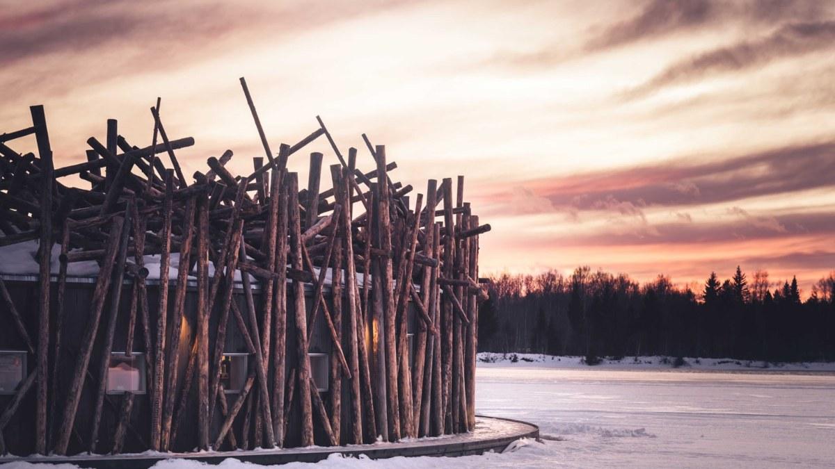 Arctic Bath Hotel Σουηδία- σπα εξωτερικά