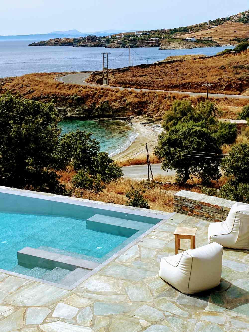 Iris Villa Κέα - θέα