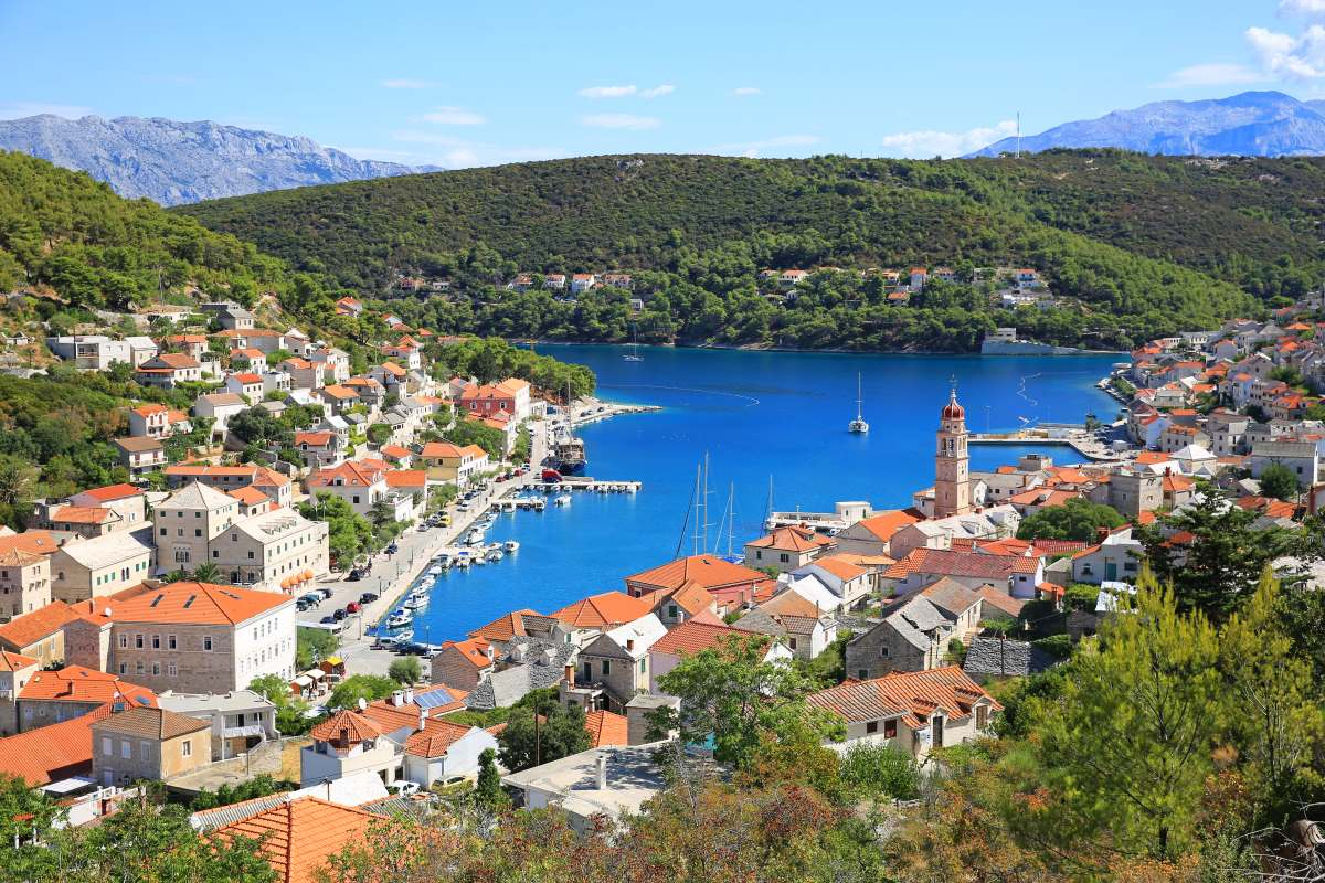 Pusiska Κροατία λιμάνι