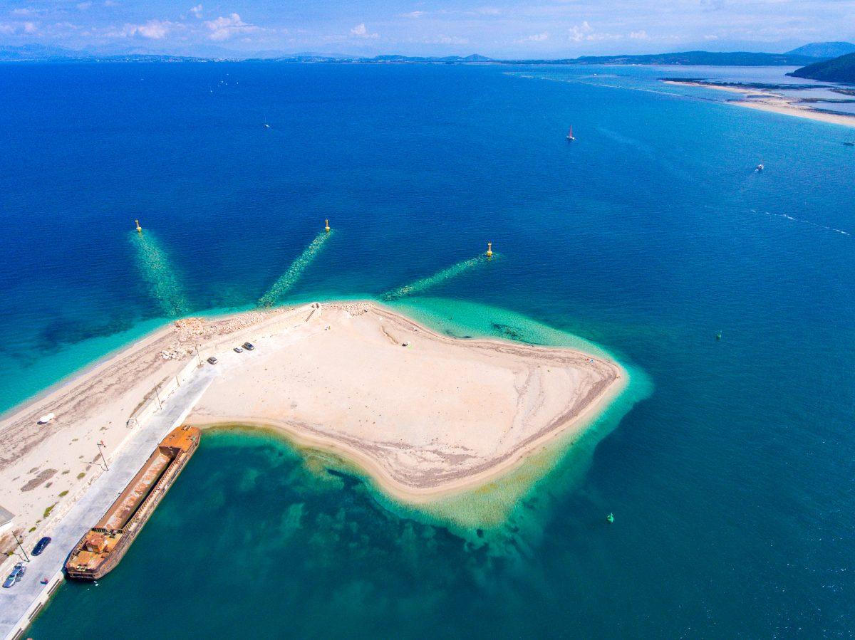 Παραλία Αμμόγλωσσα Λευκάδα