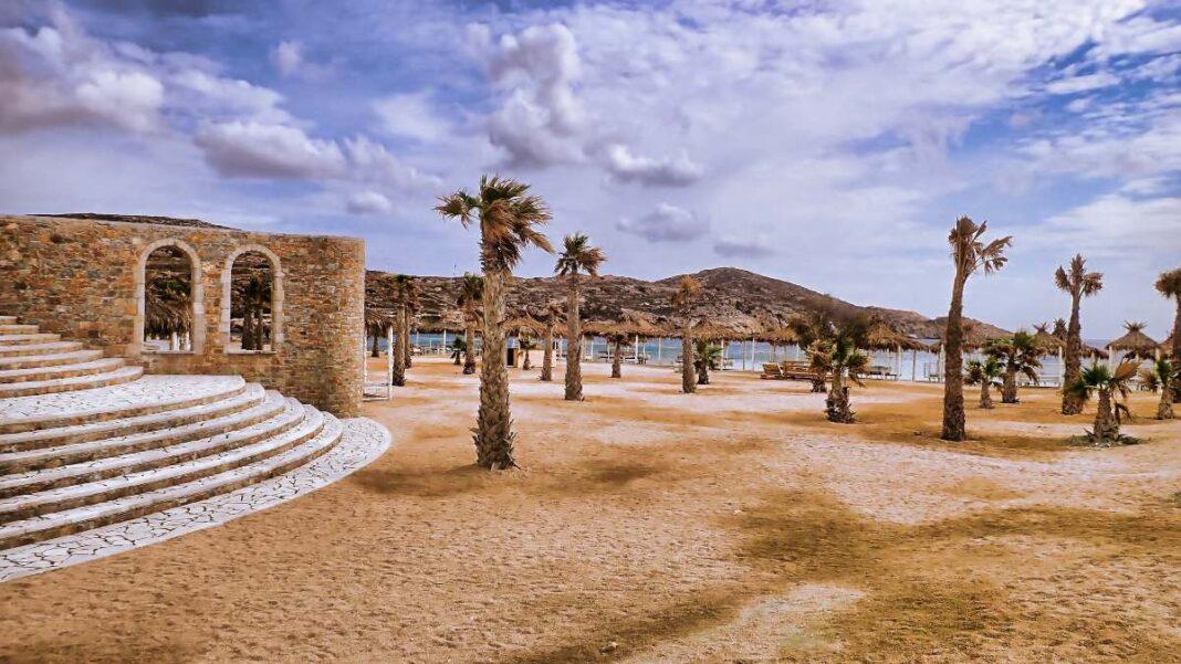 Ίος παραλία Κουμπάρα