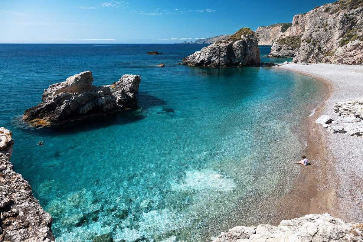 Παραλία Καλαδί Κύθηρα