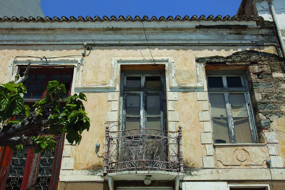 Κάρυστος Εύβοια - παλιά κτήρια