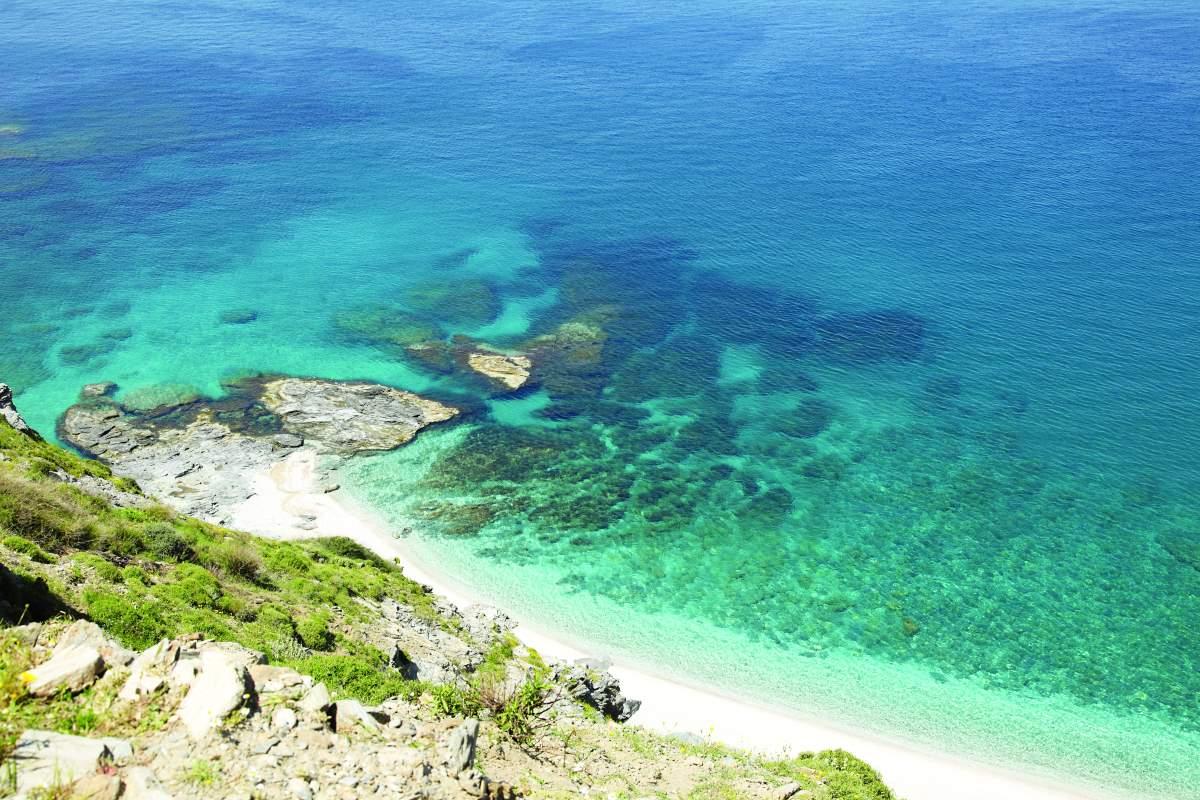 Κάρυστος Εύβοια παραλίες