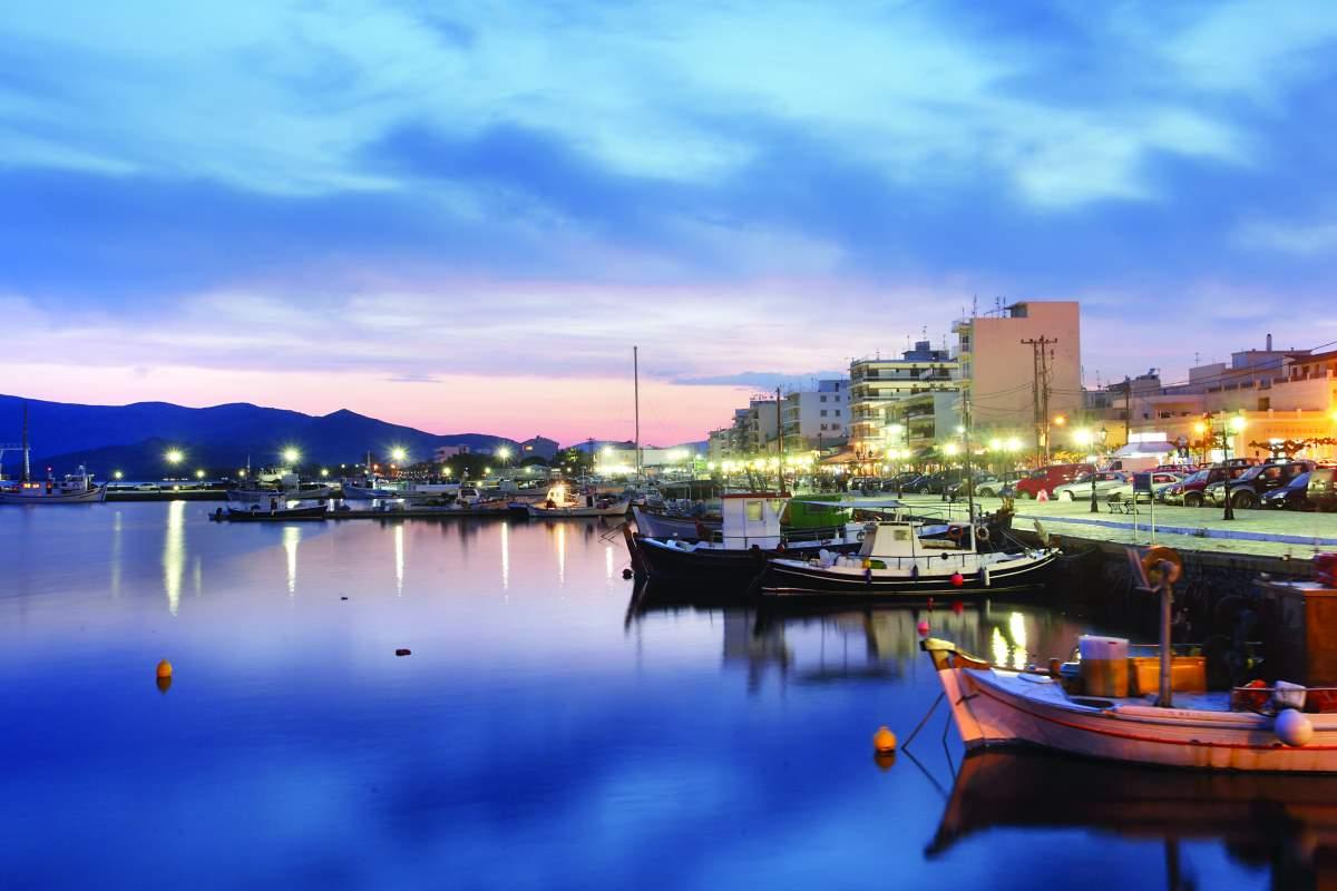 Λιμάνι Κάρυστος Εύβοια
