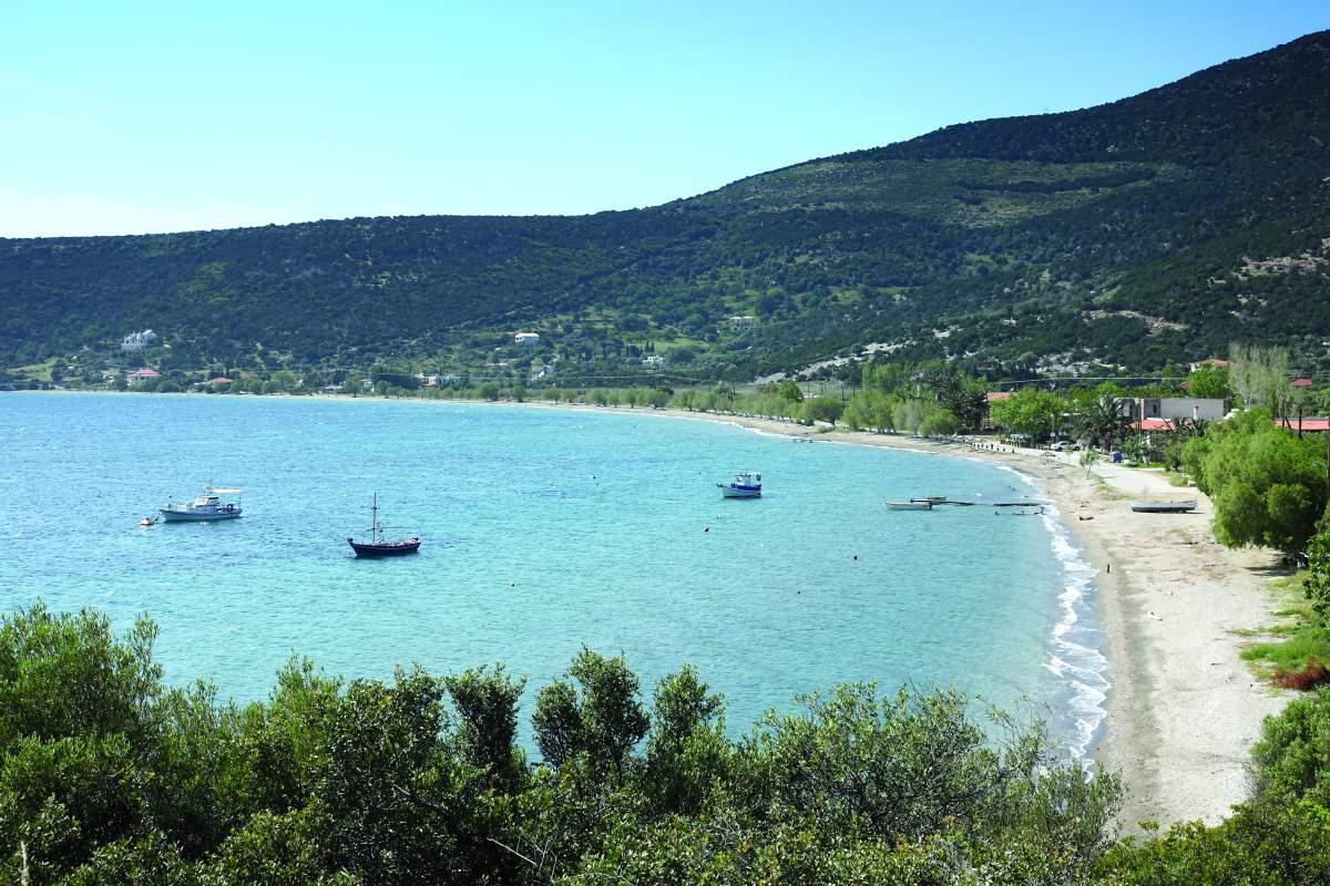 Κάρυστος παραλίες