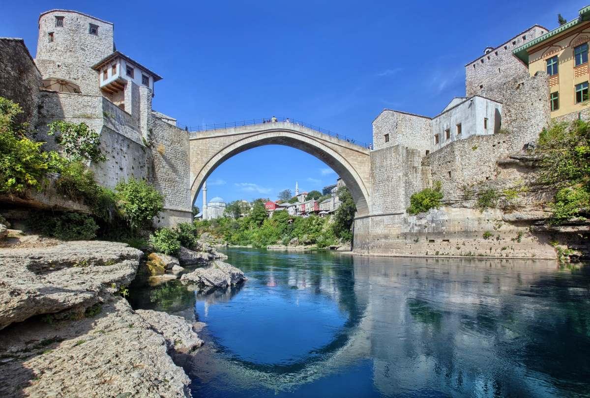 Μόσταρ, Βοσνία και Ερζεγοβίνη - γέφυρα