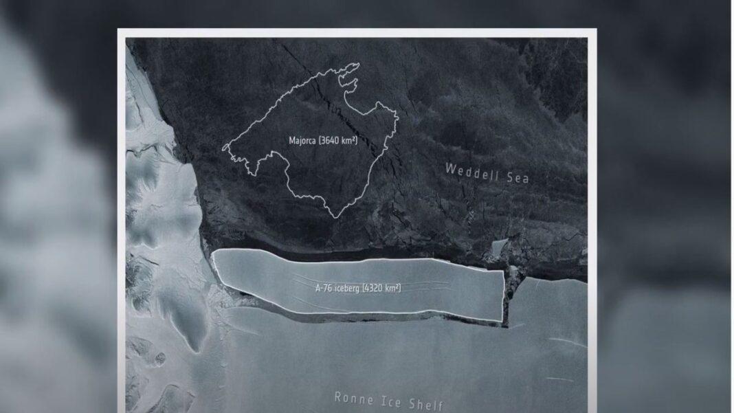 Παγόβουνο Ανταρκτική