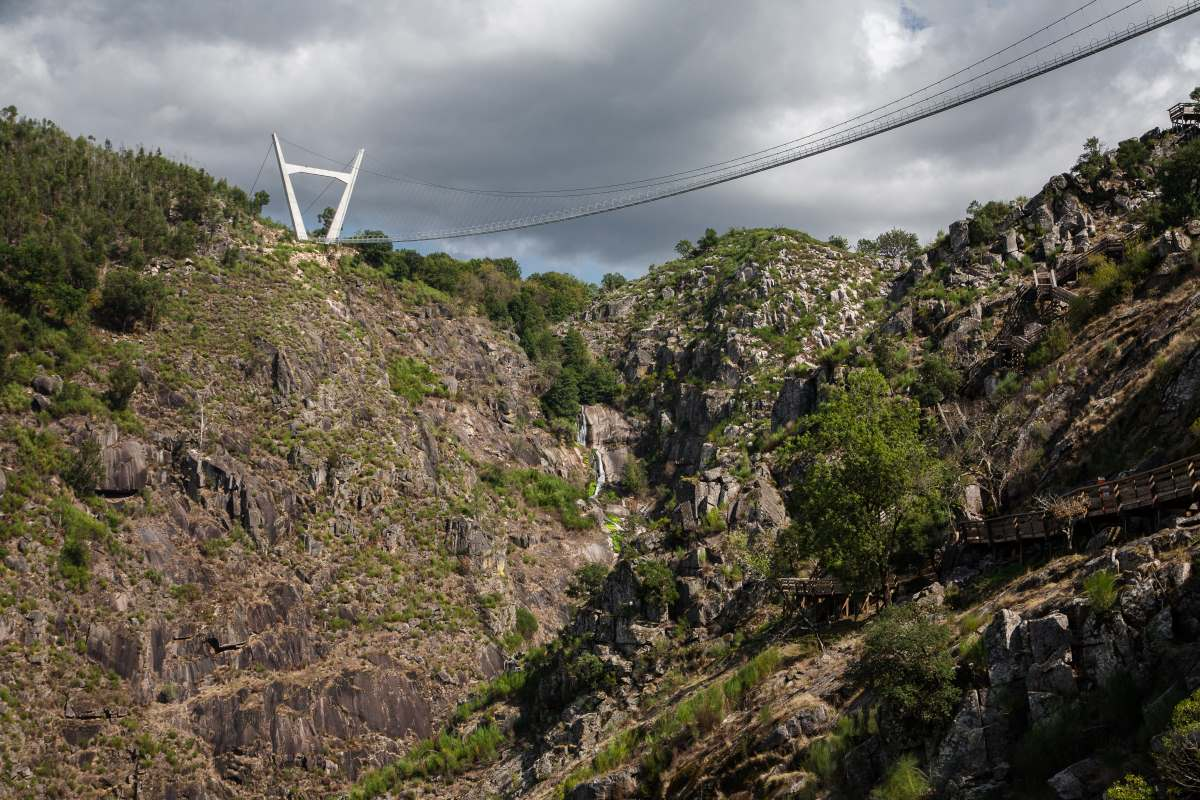 Αρούκα 516 Πορτογαλία, η μεγαλύτερη πεζογέφυρα στον κόσμο
