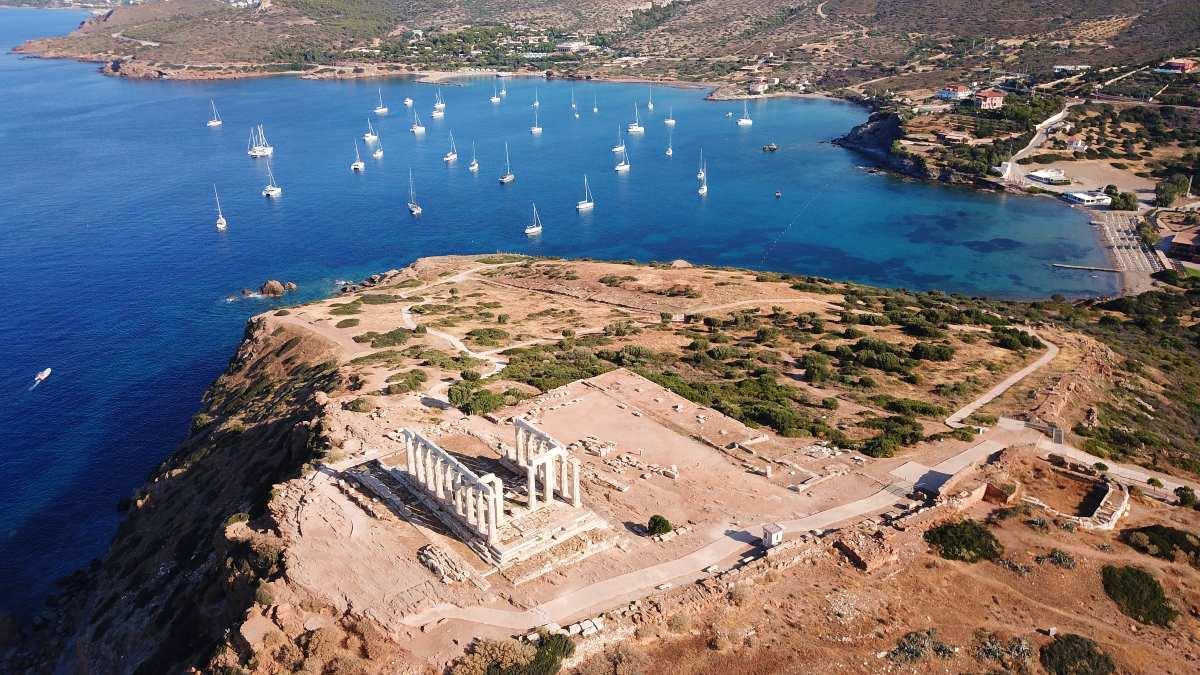 Σούνιο - Ο ναός του Ποσειδώνα