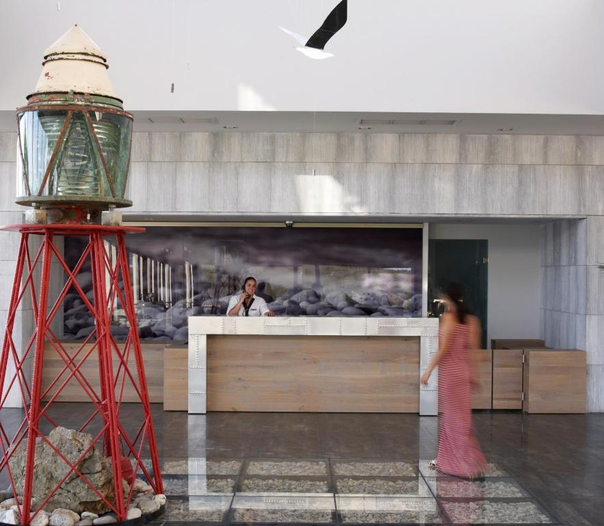 Adrina Resort & Spa reception