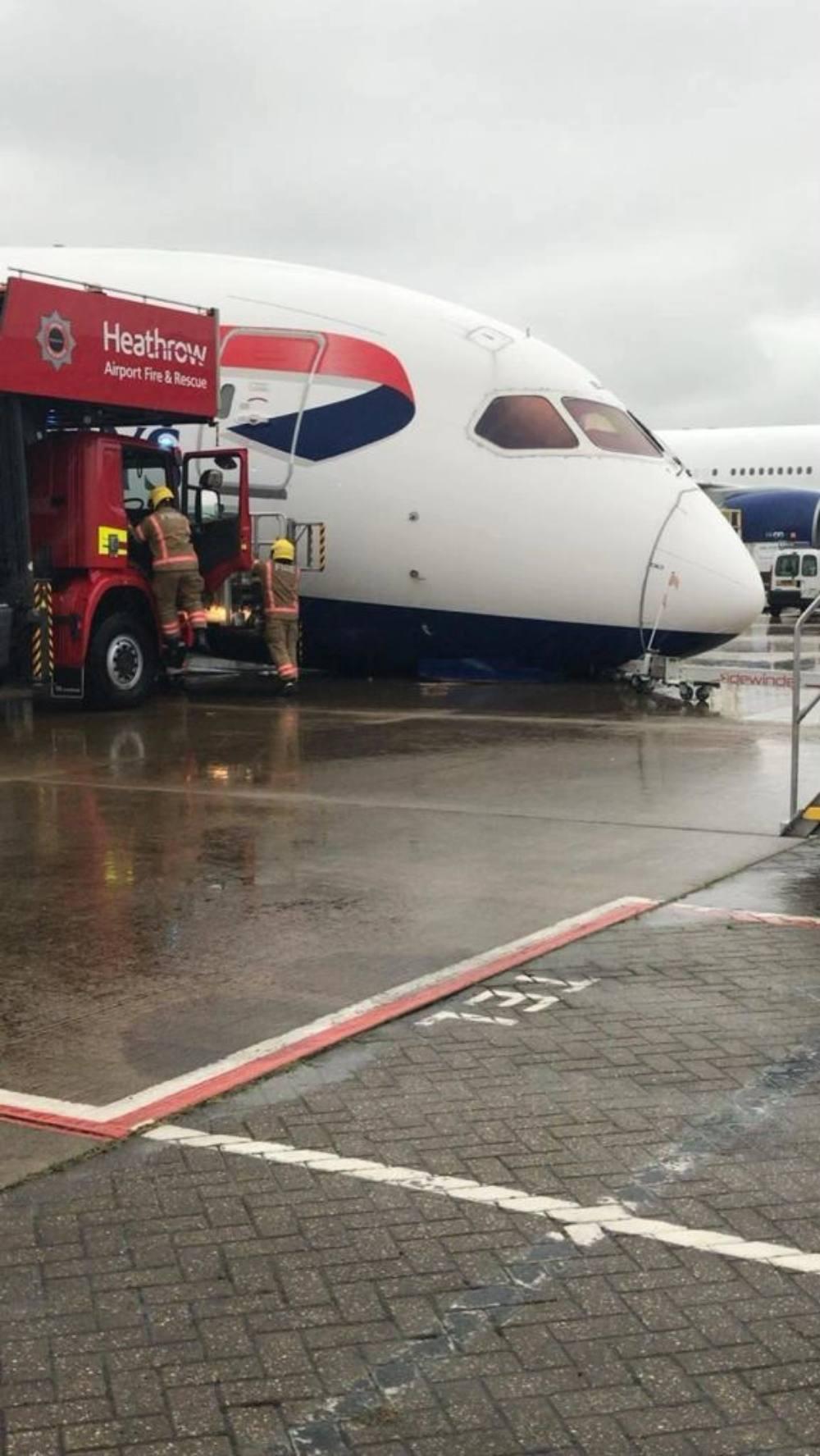 British Airways ατυχημα Χίθροου
