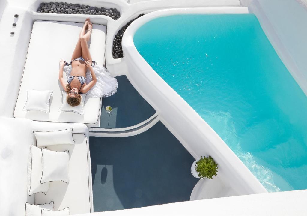 Dana Villas Σαντορίνη - πισίνα