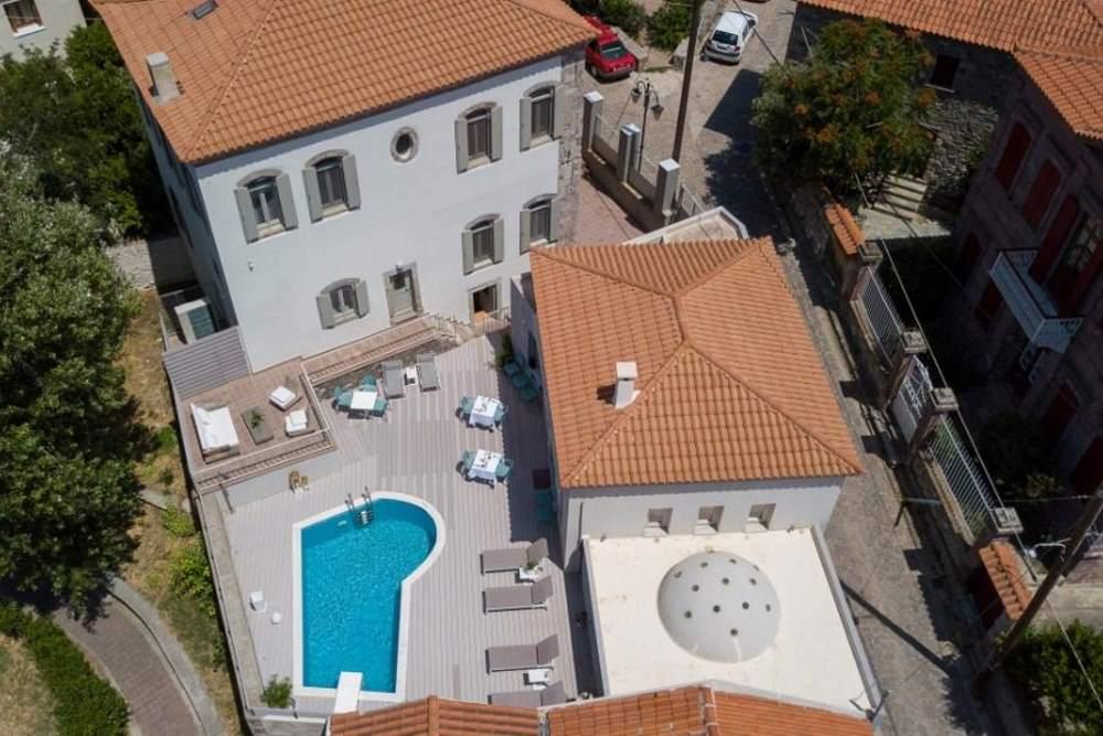 Eressian Hotel & Hammam Spa - drone