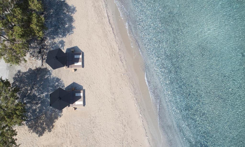 Lango Design Hotel & Spa Κως - ιδιωτική παραλία