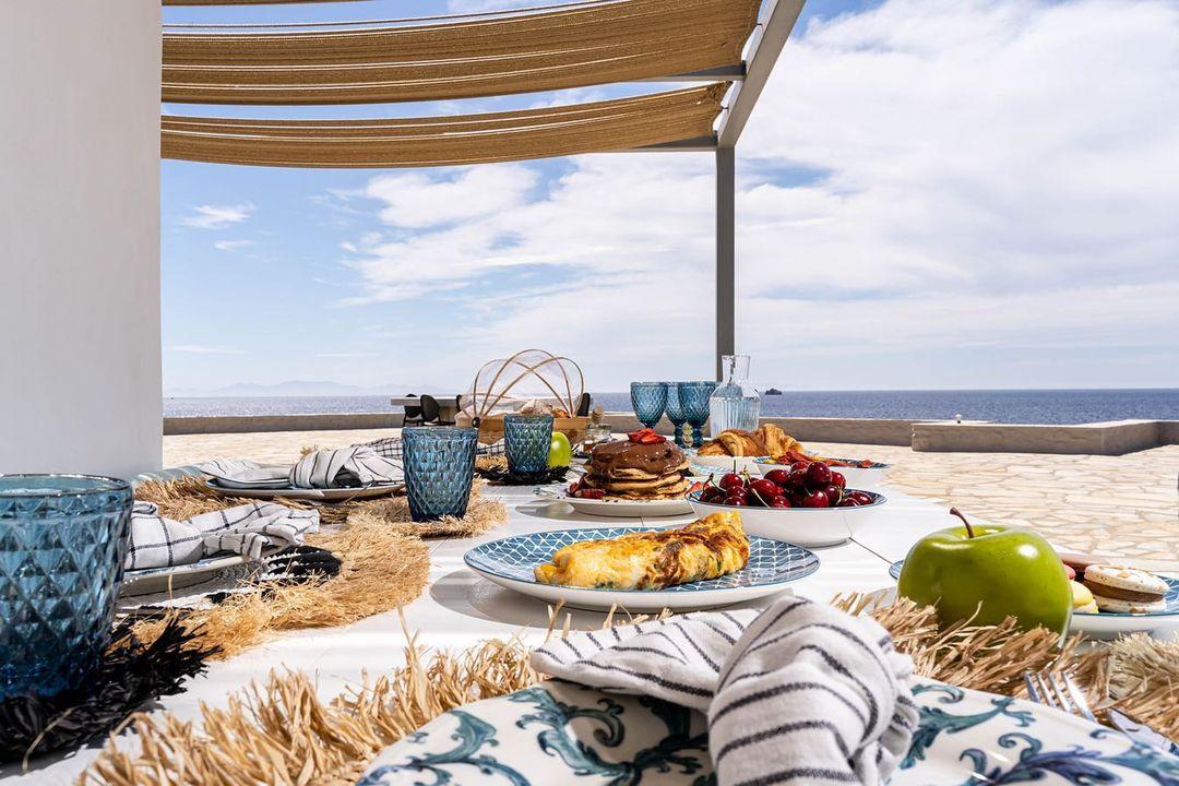 Mar Azul Resort  Πάρος -πρωινό