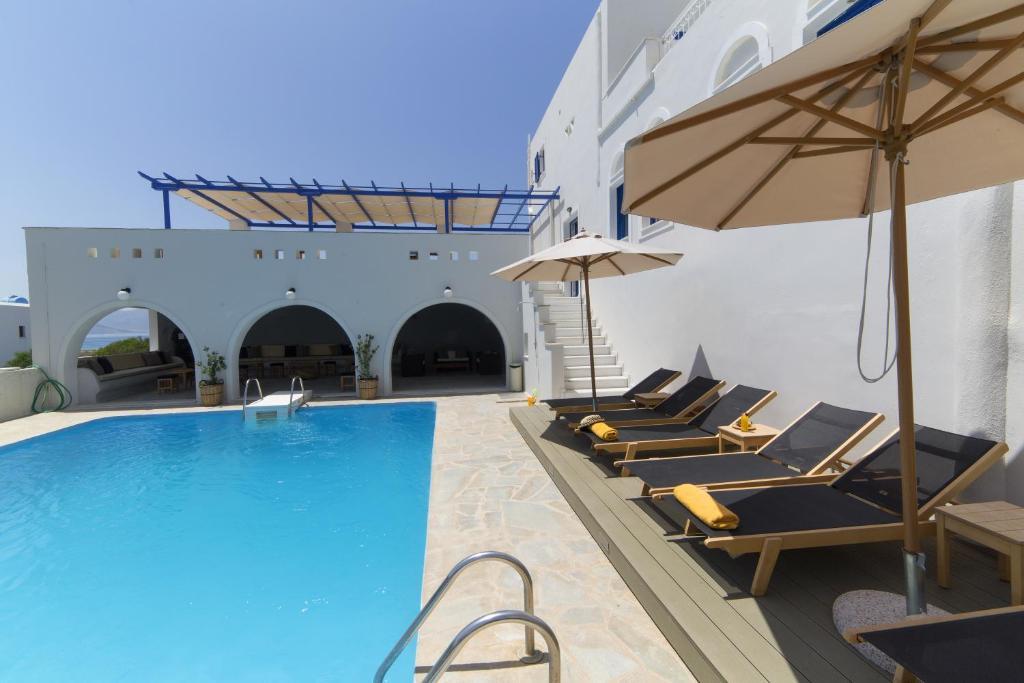 Hotel Semeli πισίνα