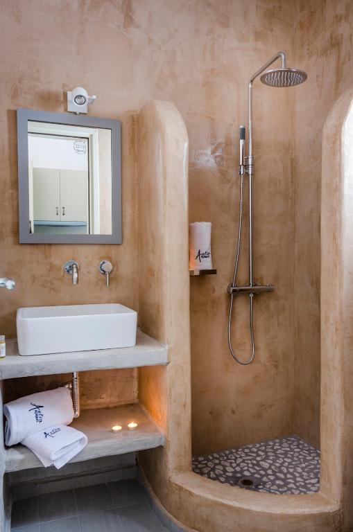 Aelia Studios Αμοργός - μπάνιο