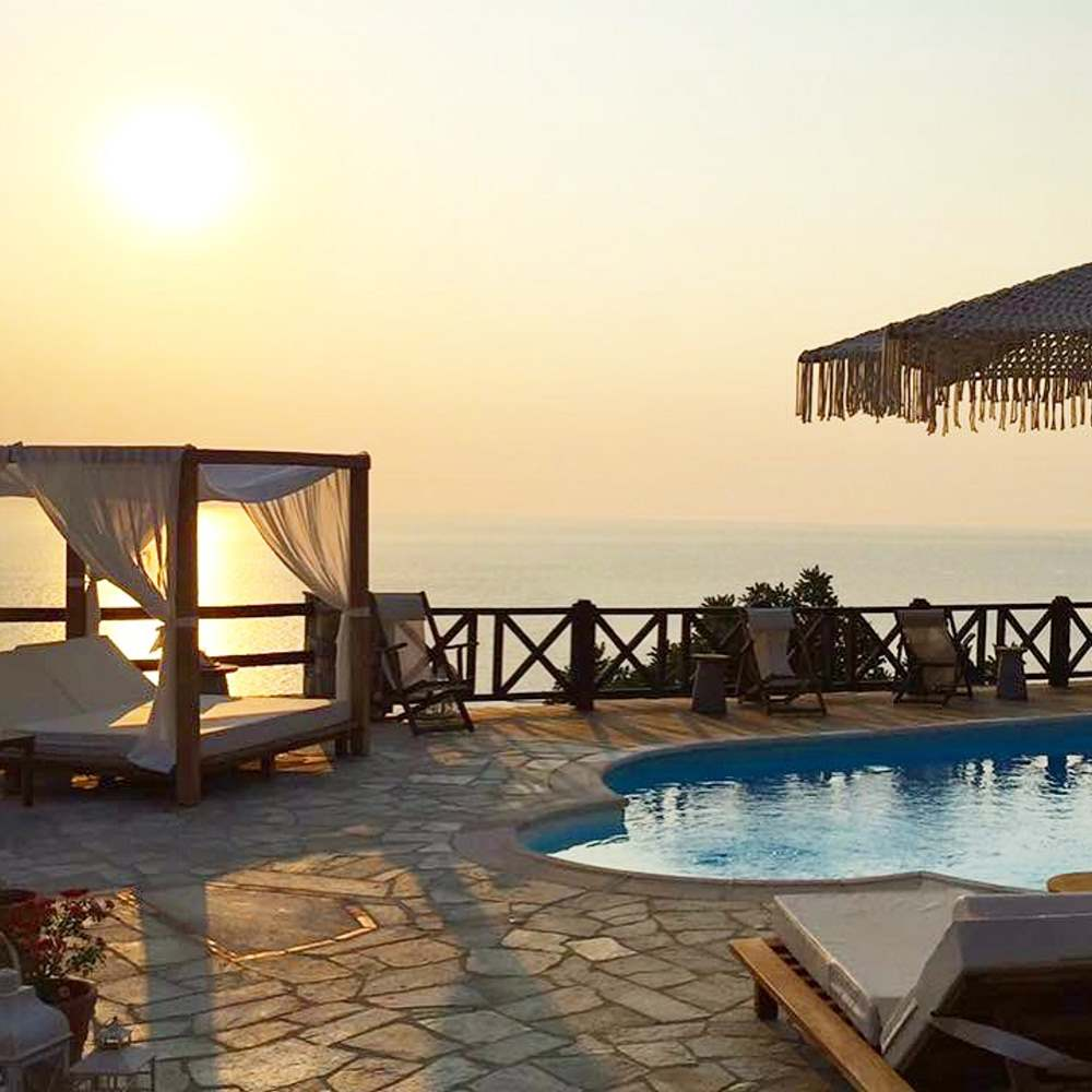 Agapitos Villas and Guesthouses  ηλιοβασιλεμα