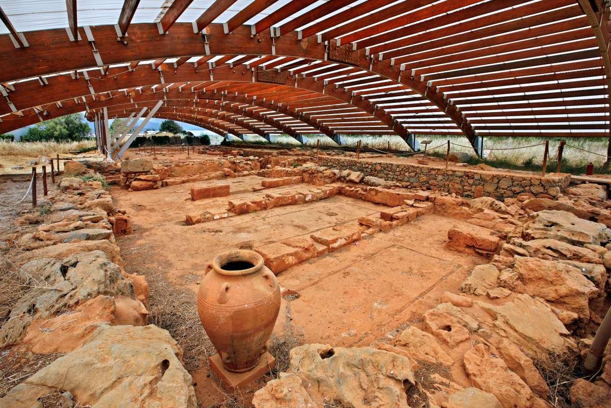 αρχαιολογικός χώρος των Μαλίων  -Χερσόνησος