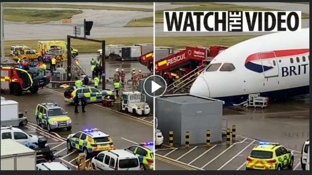 British Airways ατύχημα