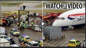 Πανικός στο Χίθροου του Λονδίνου: «Κατέρρευσε» το μπροστινό μέρος αεροσκάφους της British Airways!