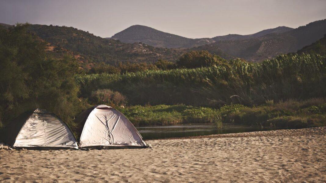 free camping Ikaria