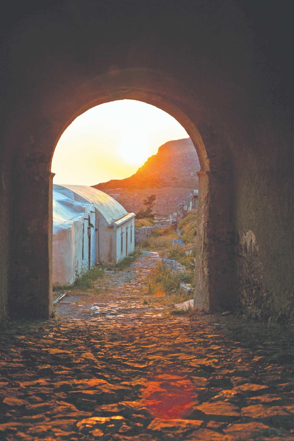 Μαγικά Κύθηρα... Στη Χώρα κατά το ηλιοβασίλεμα