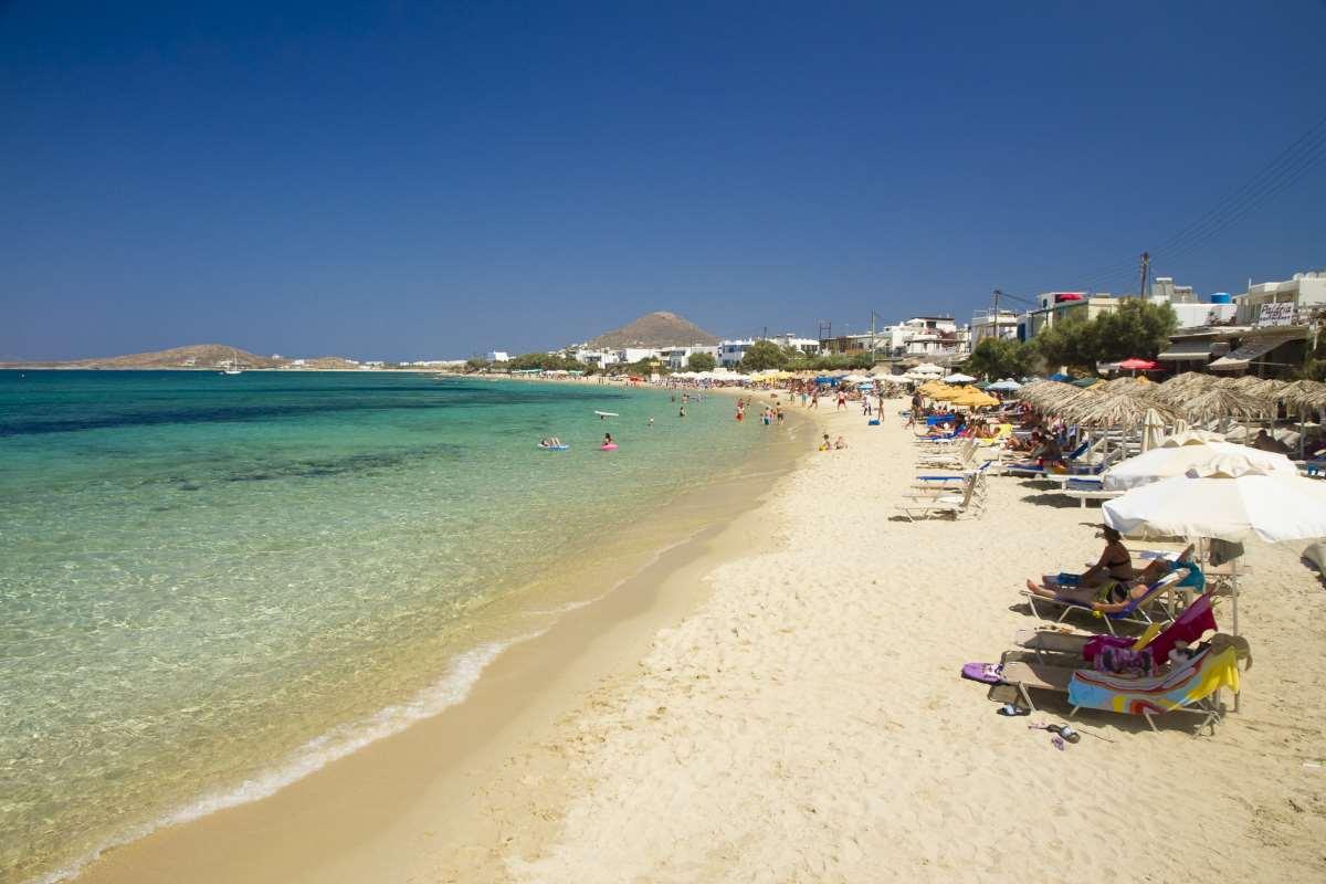 Αγία Άννα παραλία Νάξος