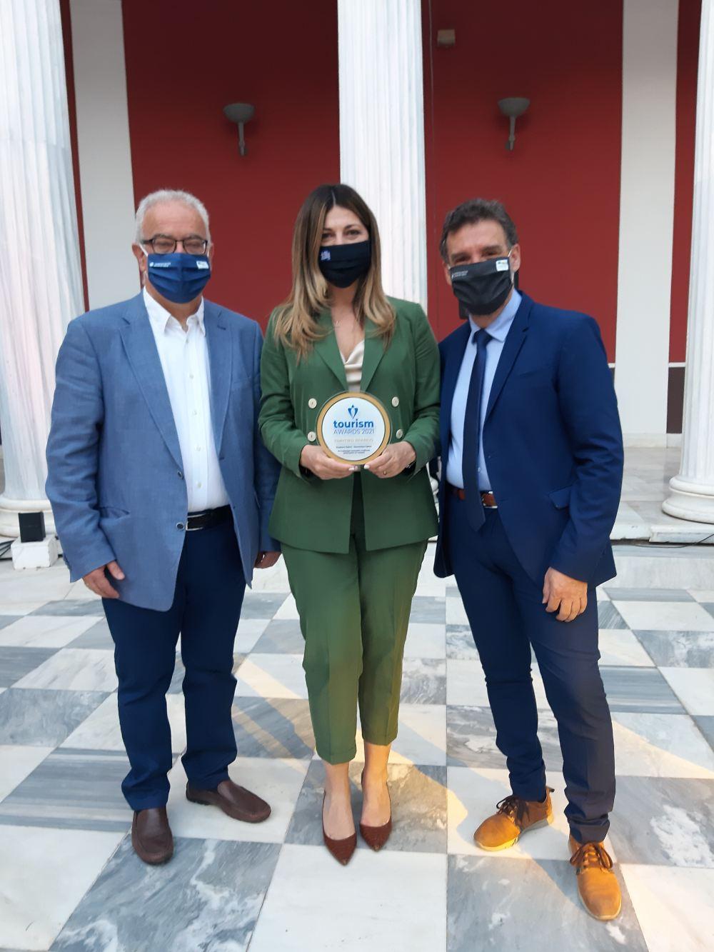Τιμητικό βραβείο στην Περιφέρεια Κρήτης και το Πανεπιστήμιο Κρήτης από τα «Βραβεία Τουρισμού 2021»