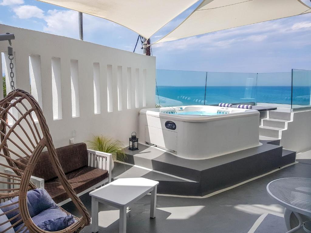 Panorama Suites & Spa / deluxe δίκλινο