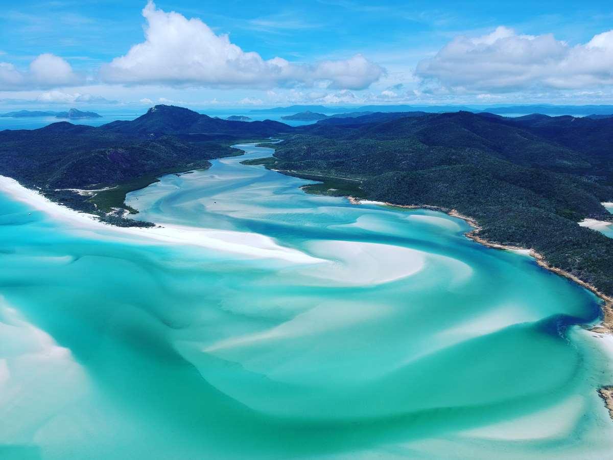 Παραλία Whiteheaven (η παραλία με την άσπρη άμμο), Αυστραλία