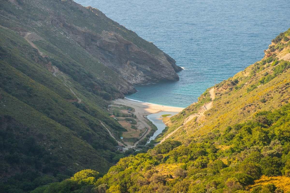 Παραλία Άγιος Δημήτριος Εύβοια