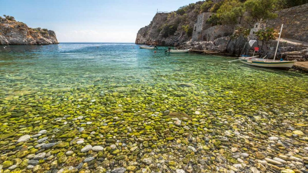 Παραλία Αλύπα Μάνη