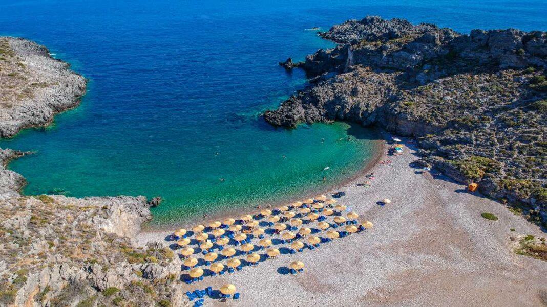 Κύθηρα παραλία Χαλκός