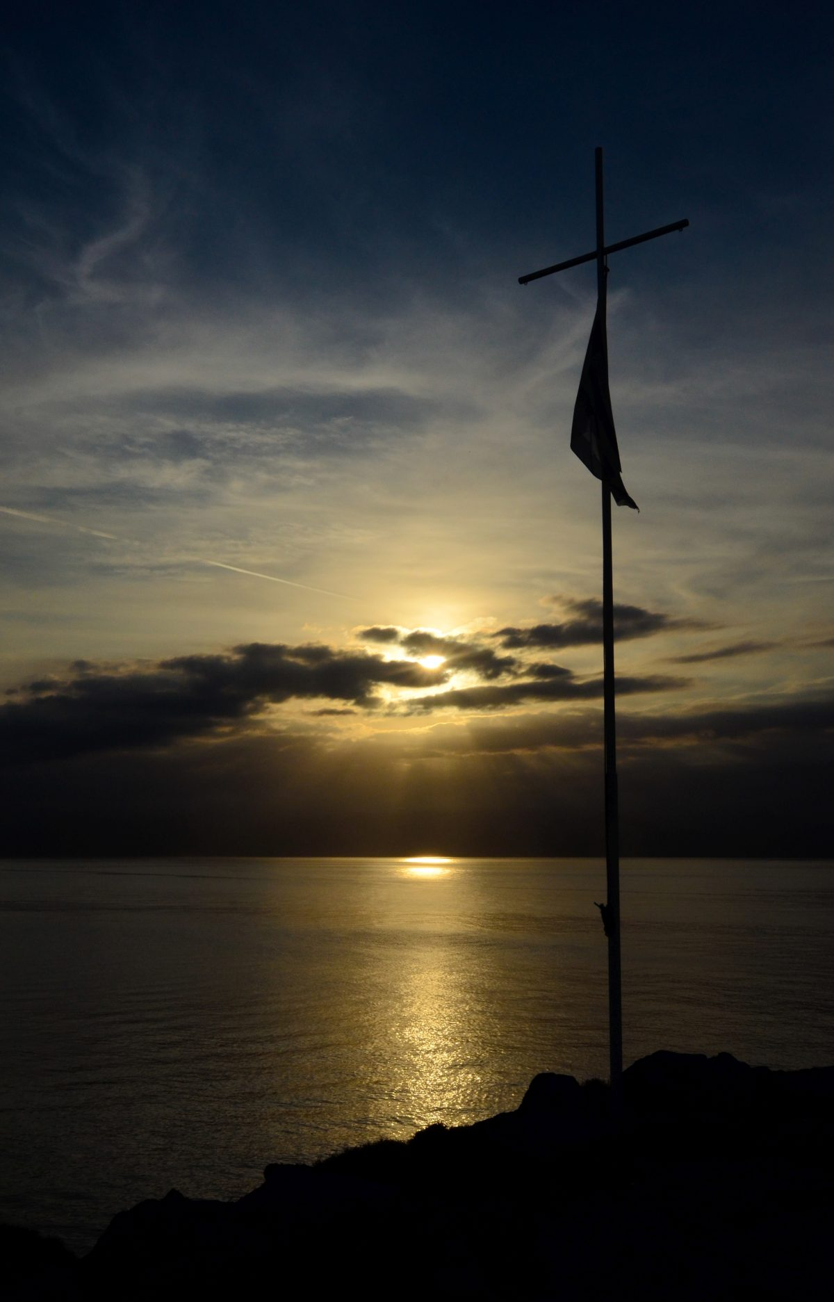 Νησάκι Δία ή Ντία, Χερσόνησος Κρήτη
