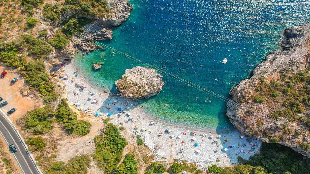 Παραλία Φονέας Μάνη