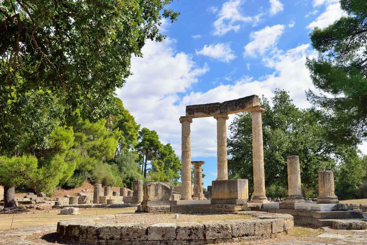 Το Στάδιο της Αρχαίας Ολυμπίας