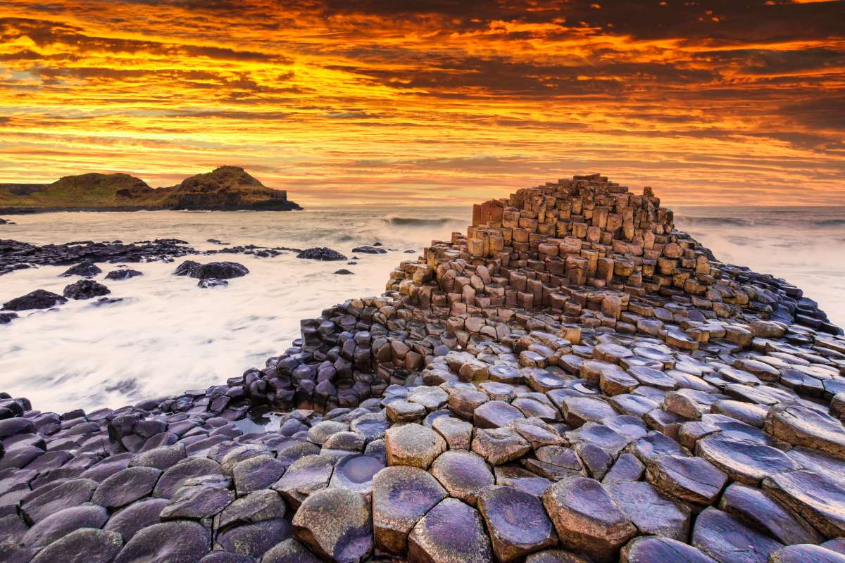 Giants Causewa(«Mονοπάτι του γίγαντα»), Ιρλανδία