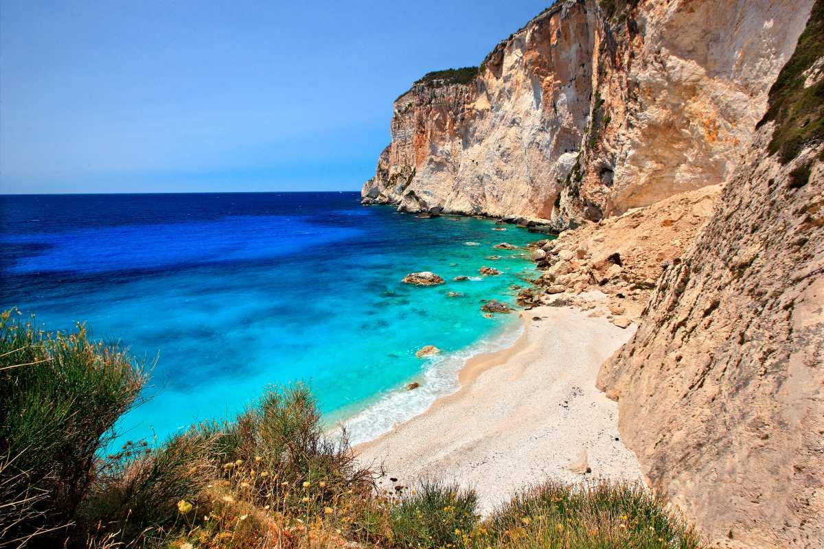 Παραλία Ερημίτης Παξοί