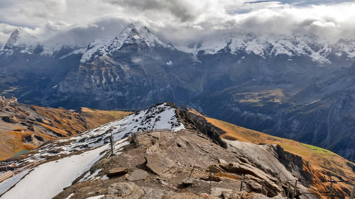 Τα παγόβουνα στις Ελβετικές Άλπεις