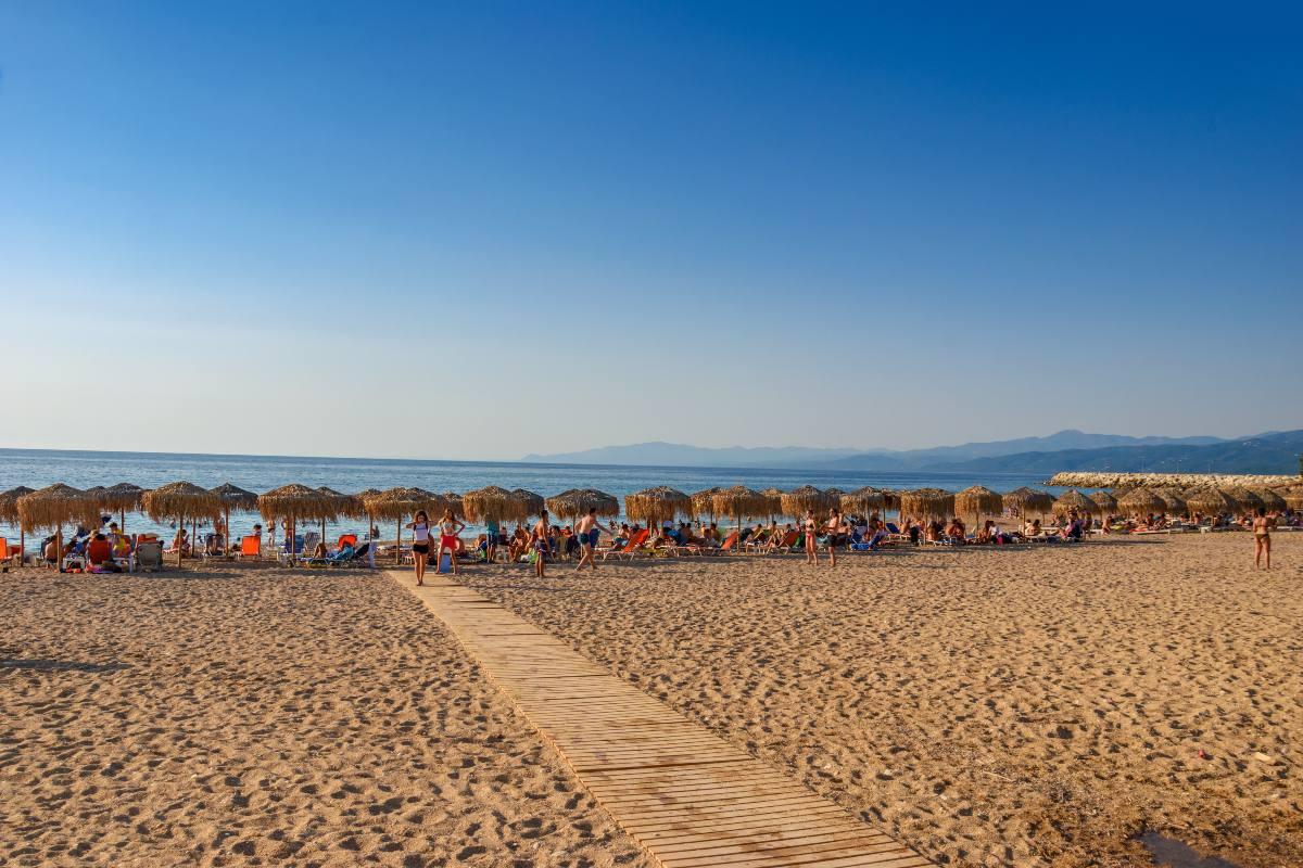 Κυπαρισσία παραλία