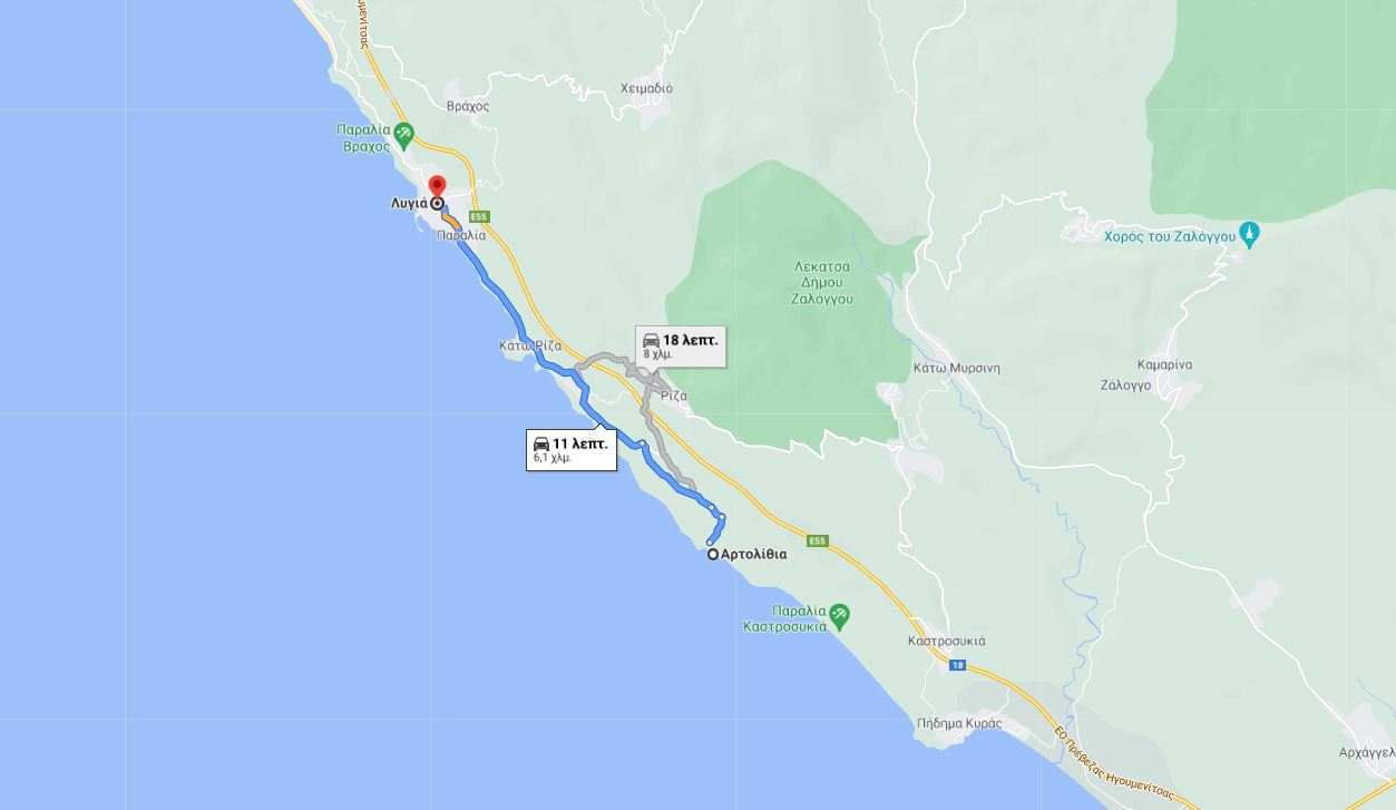 Πρέβεζα: 1+1 μαγευτικές παραλίες του Ιονίου που θα φτάσετε με την άνεση του αυτοκινήτου σας