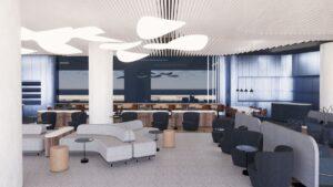 Aegean: Tο ολοκαίνουριο business lounge στο αεροδρόμιο «Μακεδονία» μόλις άνοιξε